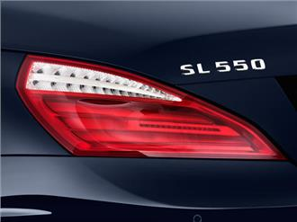 نمای چراغ عقب SL-Class