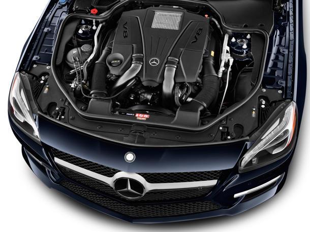 نمای موتور SL-Class